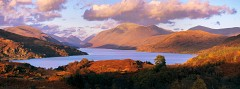 Autumn Evening - Loch Etive, Argyll and Bute, Hasselblad Xpan 90mm. October 2014.