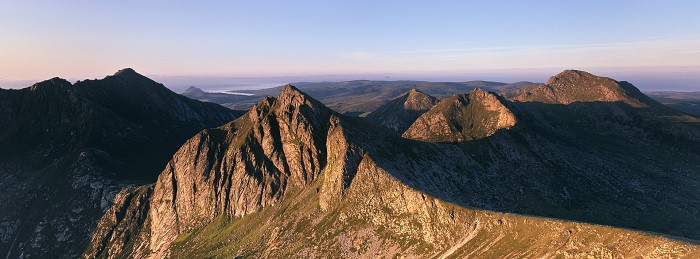 Cir Mhor, Isle of Arran. July 2011. Hasselblad XPan 45mm.