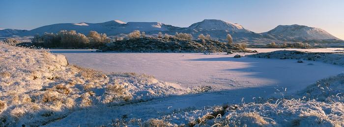 Loch Ba, Rannoch Moor. December 2010. Hasselblad Xpan 45mm.