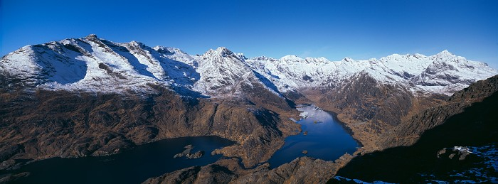 Loch Coruisk, Isle of Skye. February 2010. Hasselblad Xpan 30mm