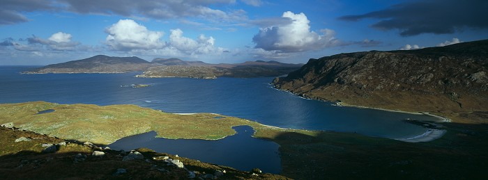 Loch Crabhadail, Isle of Harris. September 2011. Hasselblad XPan 30mm.