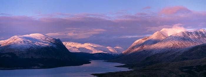 Ben Starav, Loch Etive. February 2008. Hasselblad Xpan 90mm.