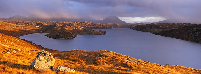 Loch Inchard. October 2012. Hasselblad Xpan 45mm.
