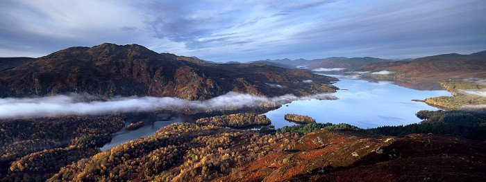Loch Katrine, Stirlingshire. October 2010. Hasselblad XPan 30mm.