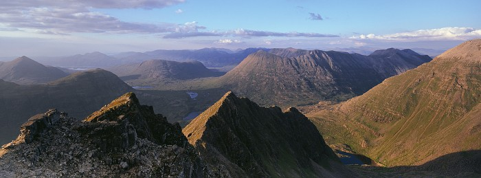 Mullach an Rathain, Liathach. July 2011. Hasselblad XPan 30mm.