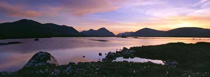 Rannoch Moor, Highland. Hasselblad 30mm. July 2013.