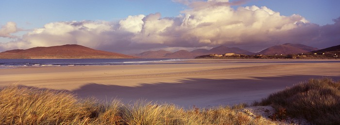 Traigh Sheileboist, Isle of Harris. October 2011. Hasselblad XPan 45mm.