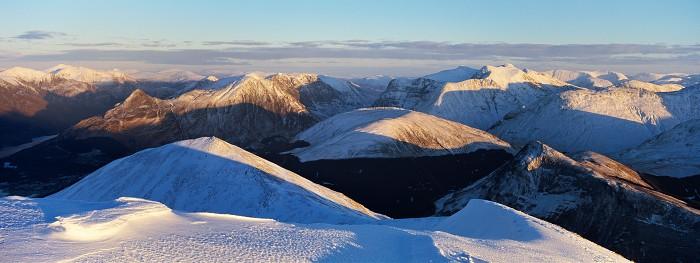 Sgorr Dhearg, Highland. November 2010. Hasselblad Xpan 45mm.