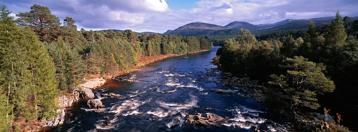 The River Dee, Braemar. September 2008. Hasselblad Xpan 30mm.
