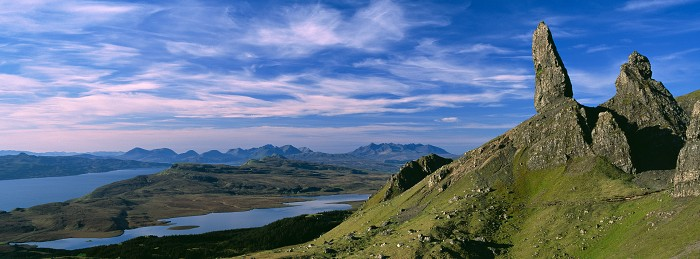 The Storr, Isle of Skye. June 2007. Hasselblad XPan 45mm.