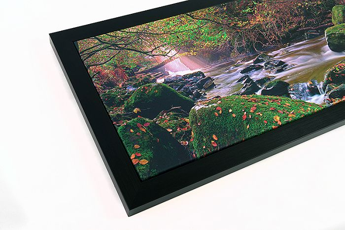 Frame size 35.5 x 14 inch - Image canvas size 32 x 11 inch - £135 delivered with in the UK