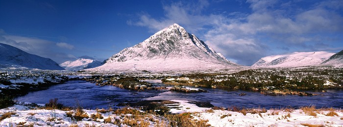 Buachaille Etive Mor, Hasselblad XPan 30mm. March 2008.