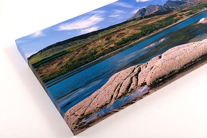Professional canvas wraps. 40x14 inch £125 delivered within the UK.