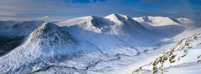 The Lairig Ghru. December 2012. Hasselblad XPan 30mm.