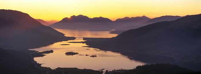 Garbh Beinn, Loch Leven. March 2012. Hasselblad XPan 90mm.