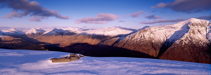 Glen Etive, Highland. March 2008. Hasselblad Xpan 30mm.