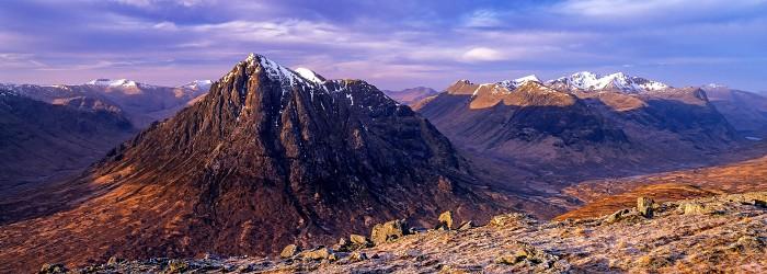 Glen Coe, Highland. February 2007. Hasselblad Xpan 45mm.
