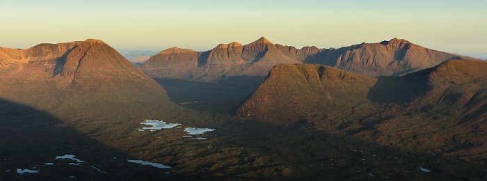 Liathach, Flowerdale. July 2013. Hasselblad XPan 90mm.
