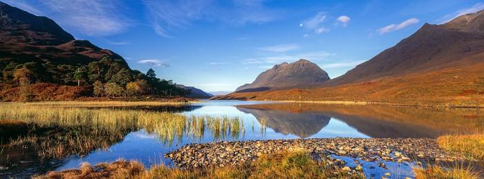 Loch Clair. Scottish Landscape Photography