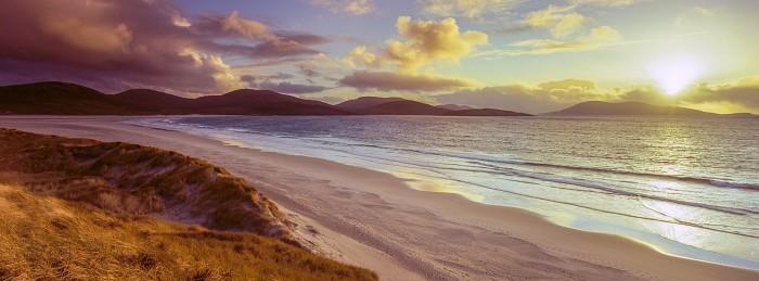 Luskentyre, Isle of Harris. October 2011. Hasselblad XPan 30mm