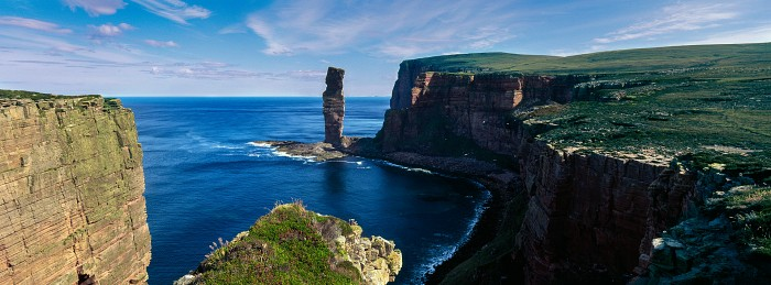 The Old Man of Hoy. Hoy, Orkney. Hasselblad XPan 30mm. July 2014