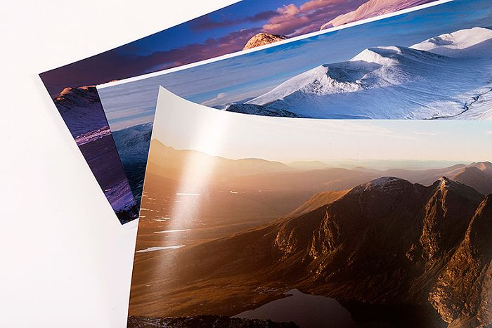 Professional photographic prints
