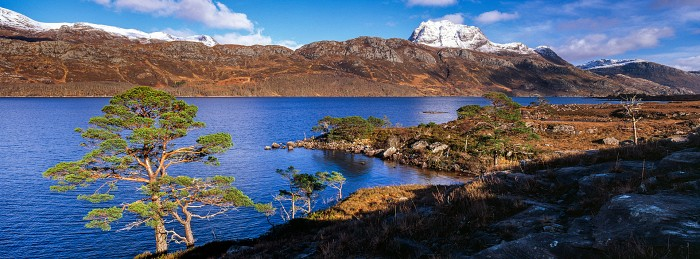 Slioch from Loch Maree, Scottish Landscape Photography