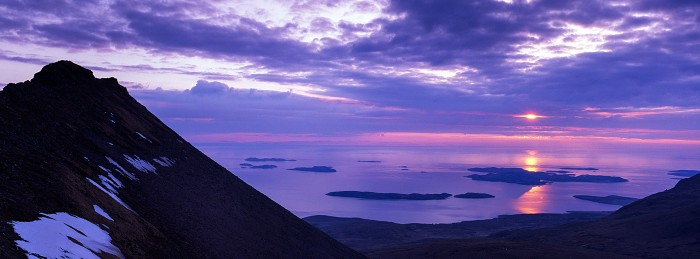 The Summer Isles, From BMC. Hasselblad XPan 45mm. April 2018.